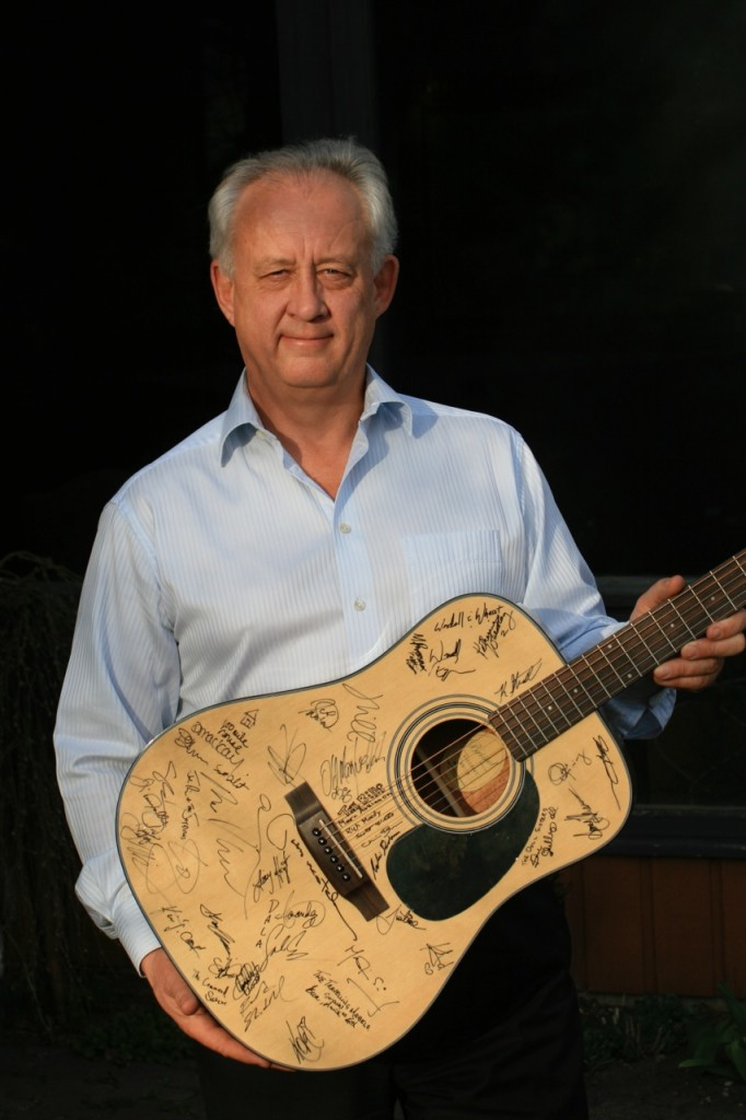 Michael Mudie, 2014-2015 Guitar Raffle Winner